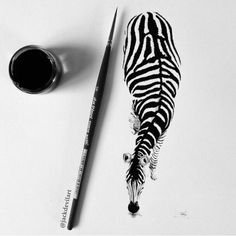 Striking Hyperrealistic Drawings Are No Larger Than a Pen - My Modern Met