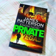#currentlyreading #jamespatterson #privatevegas #crimenovel #novel #bibliophile #bookaddict #bookstagram #bookworm #book #tbr #reading  #crime #maxinepaetro by readingat3am