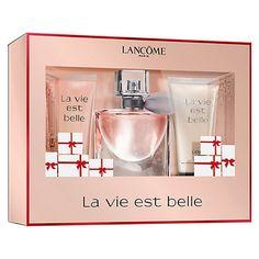 Natale 2015 Confezione Regalo Lancome La Vie Est Belle #regalinatale2015 #nataledonna #beautynatale #profuminatale2015 #cosmeticiregalo