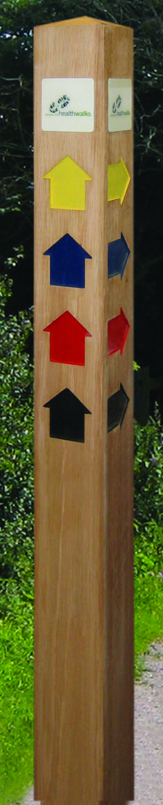 Footpath sign from FWDP