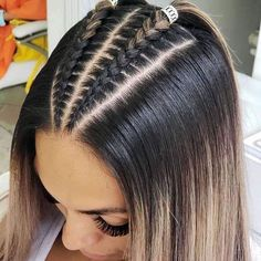 56 Dope Box Braids Hairstyles to Try - Hairstyles Trends Cool Braid Hairstyles, Easy Hairstyles For Long Hair, Baddie Hairstyles, Braids For Long Hair, Hairstyle Ideas, Crazy Hairstyles, Latina Hairstyles, Fashion Hairstyles, Travel Hairstyles