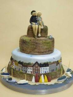 Novelty Australian Wedding Cake