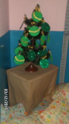 Árvore da nossa sala - maternal II - natal 2015