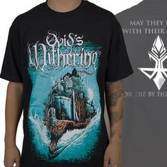 """Ovid's+Withering+""""Drykanfall""""+T-Shirt+at+https://www.indiemerchstore.com/"""