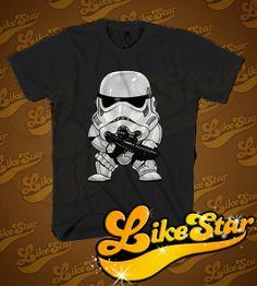 STOMROOPER MINI Men TShirt  Star Wars TShhirt  by LIKESTAR on Etsy, $18.98