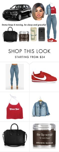 """Untitled #244"" by swaavvyya ❤ liked on Polyvore featuring NIKE, Calvin Klein, BMW, Givenchy and Sara Happ"
