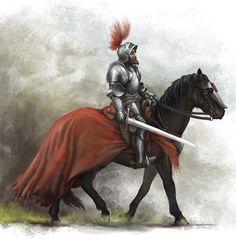 Werner von Urslingen by Igor-Zhovtovsky on deviantART Medieval Art, Medieval Fantasy, Knight In Shining Armor, Knight Armor, Imperial Knight, Classical Antiquity, Fantasy Armor, Chivalry, Fantasy Inspiration