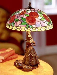 Disney castle stained glass lamp | Gotta Have It | Pinterest ...