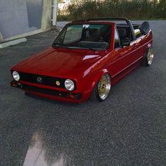 Golf MK1 cabriolet