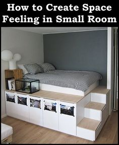 Small Bedroom Ideas Ikea |  Small Bedrooms . Another disadvantage of a little bedroom is the amount of space you have for a bed, while still having space for other furniture pieces or other things you might want to perform in the bedroom. This is particularly true if you reside in a home or smaller sized house where your bedroom doubles as a living room or other space. * Details could be found by clicking the image. #handmade