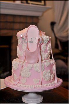 Ballerina Cake.