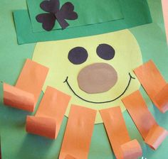 Click pic for 50 St Patricks Day Crafts for Kids - Shapes Leprechaun | Easy Crafts for Kids