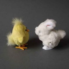jumping chicken and rabbit