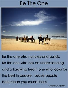 Be The One  #Motivational #Quote