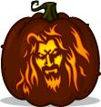 Pumpkin Carving Patterns and Stencils - Zombie Pumpkins! - Hellbilly Deluxe pumpkin pattern - Rob Zombie