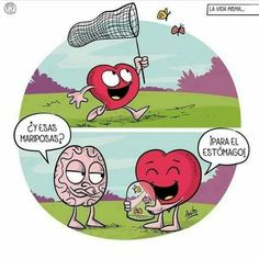 My life, always! Crazy Heart, Heart And Mind, Sarcastic Quotes, Funny Quotes, Funny Memes, Heart Vs Brain, Love Mate, The Awkward Yeti, Humor Mexicano