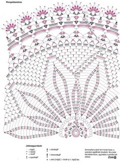 Kira scheme crochet: Round napkin no. Free Crochet Doily Patterns, Crochet Doily Diagram, Crochet Circles, Crochet Round, Crochet Chart, Crochet Home, Thread Crochet, Filet Crochet, Crochet Motif