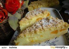 Smetanový sypaný koláč recept - TopRecepty.cz