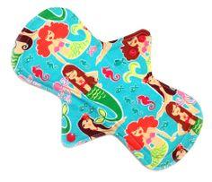 "Lady Days Cloth Pads - 11"" Regular/Heavy Cloth Menstrual Pad"