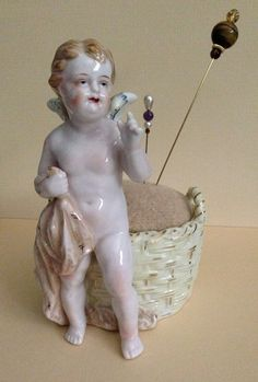 Rare Vintage Hal-Sey Fifth Japan Angel Pincushion on Etsy, $49.00