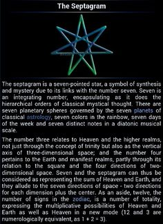 Heptagram showing the Planetary Weekdays. The heptagram is important in Western Kabbalah, where it symbolizes the sphere of Netzach, the seven planets, the seven alchemical metals, and the seven days. Magick Book, Witchcraft, Star Meaning, Spiritual Symbols, Reiki Symbols, Sacred Symbols, Wiccan Crafts, Mystique, Witch Aesthetic