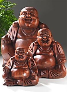 Laughing Buddhas ~~ This makes me smile. Something about a big fat buddah with a huge smile on his face. Laughing Buddhas ~~ This makes me smile. Something about a big fat buddah with a huge smile on his face. Buddha Zen, Buddha Buddhism, Buddha Gifts, Namaste Art, Gothic Hippie, Buddha Figures, Losing My Religion, Little Buddha, Deities