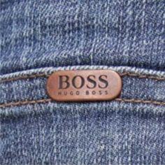 aplique metalico Hugo Boss