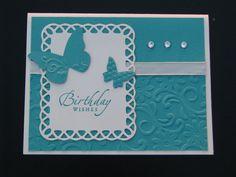 Stampin' up Handmade Birthday Card