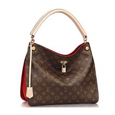 Authentic Louis Vuitton Monogram Gaia Shoulder Handbag Article:Cherry Made in France. Available at www.Brandinia.com
