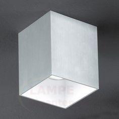 Elegant Bantry taklampe, kvadratisk 3031334
