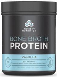 Ancient Nutrition Bone Broth Protein Vanilla 493 grams