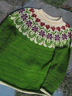 Ravelry: reanbean's Cottage Garden sweater