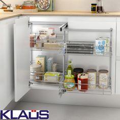 Tiroir cuisine - cuisine sur mesure - rangement cuisine pratique - KLAUS
