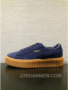 http://www.jordannew.com/puma-x-rihanna-creepes-suede-navy-women-and-men-cheap-to-buy.html PUMA X RIHANNA CREEPES SUEDE NAVY WOMEN AND MEN CHEAP TO BUY Only $80.00 , Free Shipping!
