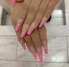 top awesome coffin nails design 2019 you must try 25 ~ thereds.me top awesome coffin nails design 2019 you must try 25 ~ thereds.me,Ombre acrylic nails top awesome coffin nails design. Summer Acrylic Nails, Best Acrylic Nails, Summer Nails, French Tip Acrylic Nails, French Stiletto Nails, Holiday Acrylic Nails, Ballerina Acrylic Nails, Ballerina Nails Shape, Simple Acrylic Nails