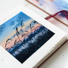 The Effective Pictures We Offer You About tree tattoo A quality picture can tell you many things. You can find … Watercolor Drawing, Watercolor Landscape, Watercolour Painting, Painting & Drawing, Watercolors, Painting Inspiration, Art Inspo, Mini Toile, Art Sketches
