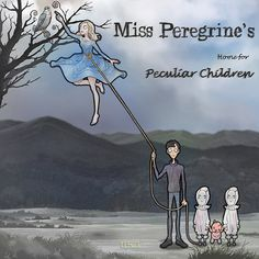 Miss Peregrine's Home For Peculiar Children part_03.   Fan art to celebrate the Tim Burton's movies.