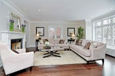 living room staging ideas | Cozy Connecticut Home Staging by Birgit