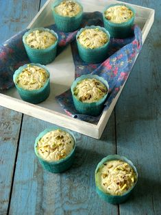 Rich & perfect snack with tea/ coffee - Eggless Mawa Cupcakes. Eggless Desserts, Eggless Recipes, Eggless Baking, Baking Recipes, Egg Desserts, Fancy Desserts, Baking Desserts, Baking Ideas, Cupcake Recipes
