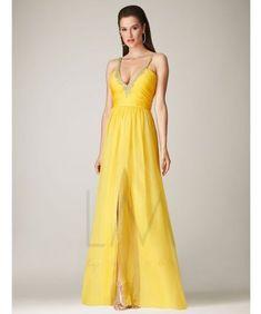 76cd4434bb0e 39 Ideas for dress prom yellow long retro vintage #dress Prom Dress 2013,  Prom