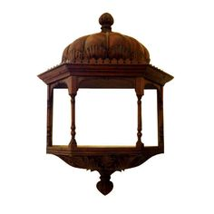 Anglo Indian Hanging Shelf- what I would do for this!!