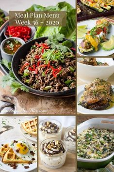 Customizable Ketogenic, Low Carb, and Gluten Free Meal Plans sent right to your email each week! Low-Carb Keto Meal Plan Menu Week 36 | Sugar Free Mom Gluten Free Meal Plan, Gluten Free Recipes For Breakfast, Low Carb Meal Plan, Low Carb Keto, Low Carb Recipes, Dinner Recipes, Healthy Recipes, Beef Lettuce Wraps