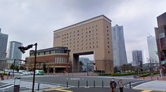 Navios Yokohama Hotel - #architecture #googlestreetview #googlemaps #googlestreet #japan #yokohama #brutalism #modernism