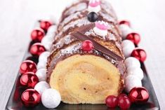 Recette de Pecan Pie par l'Académie du Goût Log Cake, Grand Marnier, Christmas Cooking, 20 Min, Coco, Yule, Feta, Sweet Tooth, Deserts