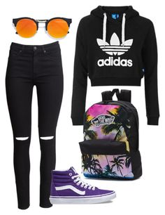 """Untitled #941"" by meloprea ❤ liked on Polyvore featuring H&M, Topshop, Vans and LULUS"