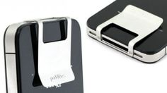 iPhone Money Clip - George Costanza-style wallets are definitely out of favour, although the alternatives are as numerous as they are disappointing. Perhaps something as minimal as the iPhone money