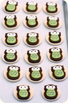I won't make these cuties but I know someone else who might...