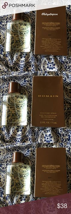 """🆕Domain Cologne (Mary Kay) •NWT •2.5 oz.•Scent is like """"a breath of fresh air"""" •Top Notes: Crisp Macintosh, Desert Sage •Middle Note: Juniper Berry, Ice Mint •Bottom Note: Black Vanilla Bean, Musk •Application TIPS- Spray freely, where desired on the body. •Top Note fragrance last up to 15 min •Middle Note unfolds and develops a few mins after the cologne is applied to the skin, they appear after the top notes disappear,can last throughout the whole fragrance experience. •Bottom Note is the…"""