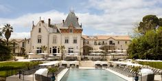 Our luxury Château, vineyard and estate is nestled in 200 acres of the South of France providing the perfect backdrop for your holiday or wedding. St Pierre, Hotel Spa, Luxury Villa, 5 Star Hotels, Travel Style, Swimming Pools, To Go, France, Mansions