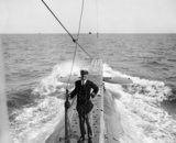 Lieutenant Commander Edward Courtney Boyle on board Submarine which he commanded at the Dardanelles when awarded the Victoria Cross for action on 27 April 1915 Gallipoli Campaign, Ambulance, Wwi, Hero, Navy, Boats, January, Action, Victoria